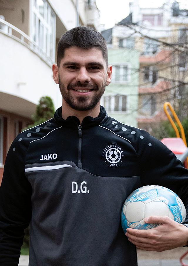 Данаил Господинов - Учител по Спорт